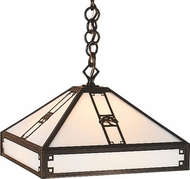 Arroyo Craftsman PH-16 Pasadena Craftsman Pendant Light - 45.625 inches tall