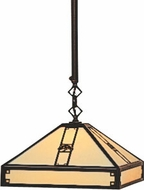 Arroyo Craftsman PSH-16 Pasadena Craftsman Pendant Light - 40.25 inches tall