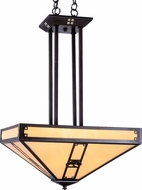 Arroyo Craftsman PCCH-16 Pasadena Craftsman Pendant Light - 62.5 inches tall