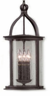 Troy F9476FBK Scarsdale Traditional Outdoor Pendant Light - 10 inches wide