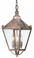 Troy F8945NR Preston Outdoor Pendant Light - 9.25 inches wide
