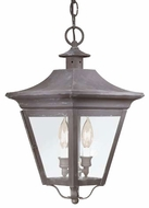Troy F8932CI Oxford Traditional Outdoor Pendant Light - 10 inches wide