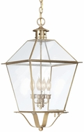 Troy F8962NAB Montgomery Outdoor Pendant Light - 14.5 inches wide