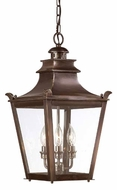 Troy F9498EB Dorchester Traditional Outdoor Pendant Light - 11.25 inches wide