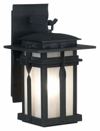 Kenroy Home 91902BL Carrington Black Medium 17 Inch Tall Exterior Wall Lamp
