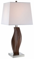 Lite Source LS22045 Raffaello Contemporary Wooden Table Light