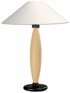 Lite Source LS3321LNATUR Basic Large Version Table Lamp - Natural Wood