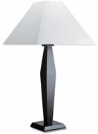 Lite Source LS3615-D-WAL Largo Table Lamp - Dark Wood
