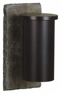 Kenroy Home 70010SL Oakley Natural Slate Finish 12 Inch Tall Outdoor Wall Lamp