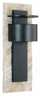 Kenroy Home 70286WHSL Pembrooke Large Natural White Slate Bronze Outdoor Wall Light