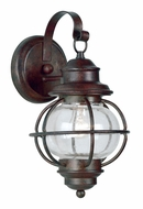 Kenroy Home 90961GC Hatteras 13 Inch Tall Gilded Copper Nautical Exterior Sconce