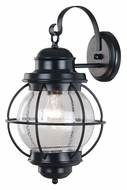 Kenroy Home 90963BL Hatteras Black 17 Inch Tall Nautical Exterior Wall Lighting