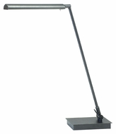 House of Troy G350-GT Generation Adjustable Granite Finish 11 Inch Tall Tilting Desk Lamp Light