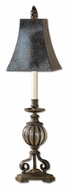 Uttermost 29415 Galeana Antique Bronze Iron Finish 35 Inch Tall Living Room Table Lamp