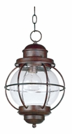 Kenroy Home 90965GC Hatteras Gilded Copper Nautical Outdoor Pendant Lamp