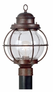 Kenroy Home 90967GC Hatteras 24 Inch Tall Gilded Copper Nautical Post Lighting