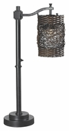 Kenroy Home 32143ORB Brent Oil Rubbed Bronze 30 Inch Tall Table Top Lamp