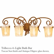 Kalco 4284 Tribecca 4-Light Bath Bar