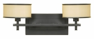 Feiss VS13702-DBZ Casual Luxury Two-Lamp Vanity Light in Dark Bronze