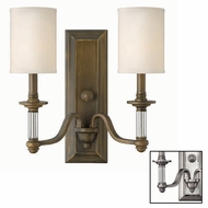 Hinkley 4792 Sussex Two-Lamp Vanity Light