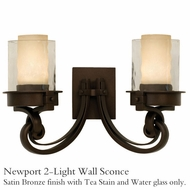 Kalco 5752sz Newport 2-Light Wall Sconce