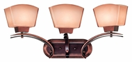 Kenroy Home 2743 Oslo 3-Lamp Contemporary Vanity Light
