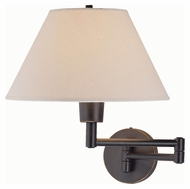 Lite Source LS1171D/BRZ Swinger Bronze Finish 15 Inch Tall Wall Lamp Lighting