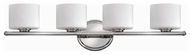 Hinkley 5424-CM Ocho 4-light Contemporary Vanity Light
