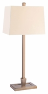Hudson Valley L227 Burke Transitional 27 Inch Tall Eco-Paper Shade Table Lamp With Full Range Dimmer