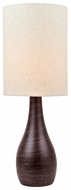 Lite Source LS22997 Quatro II Bronze Ceramic Pottery Lamp
