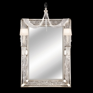 Fine Art Lamps 751255 Cascades Girandole Wall Mirror with Side Lighting