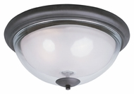 Maxim 22340CLFTBZ Bayview Transitional 16 Inch Diameter Bronze Flush Lighting Fixture