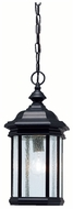 Kichler 9810BK Kirkwood Traditional 18 Inch Tall Outdoor Ceiling Mounted Drop Lighting - Black Painted Finish
