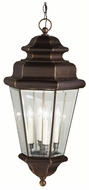 Kichler 9831OZ Savannah Estates Bronze Traditional 30 Inch Tall Outdoor Drop Ceiling Light