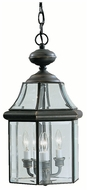 Kichler 9885OZ Embassy Row 3 Candle 19 Inch Tall Pendant Lamp - Olde Bronze Finish