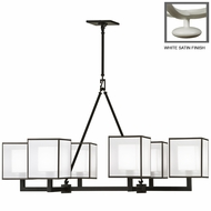 Fine Art Lamps 331440 Black & White Story 6 Lamp 48 Inch Diameter Contemporary Chandelier