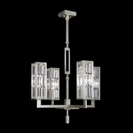Fine Art Lamps 815340 Crystal Enchantment 4 Lamp 28 Inch Diameter Chandelier Light Fixture