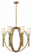 Hinkley 3586VS Margeaux 29 Inch Diameter 6 Lamp Contemporary Large Chandelier Lamp