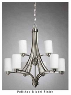 Artcraft AC1309 Parkdale 9-light Contemporary Style Chandelier Light
