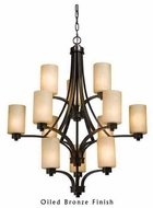 Artcraft AC1312 Parkdale 12-light Contemporary Chandelier Light