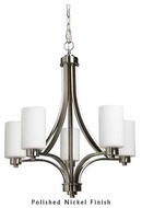 Artcraft AC1305 Parkdale 5-light Contemporary Chandelier Light