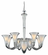 Kenroy Home 4107 Lido 8+1-Light Contemporary Chandelier