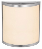 Access 20439 Artemis�Brushed Steel 11 Inch Tall Transitional Wall Sconce