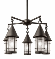 Arroyo Craftsman VCH-7/5 Valencia Nautical 5 Light Chandelier - 32 inches wide