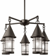 Arroyo Craftsman VCH-9/5 Valencia Nautical 5 Light Chandelier - 39.375 inches wide