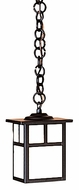 Arroyo Craftsman MH-5 Mission Craftsman Outdoor Hanging Pendant Light - 4.875 inches wide