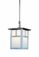 Arroyo Craftsman MSH-7 Mission Craftsman Outdoor Hanging Pendant Light - 7.25 inches wide