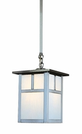 Arroyo Craftsman MSH-10 Mission Craftsman Outdoor Hanging Pendant Light - 10 inches wide