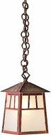 Arroyo Craftsman RH-6 Raymond Craftsman Outdoor Hanging Pendant Light - 44.875 inch long