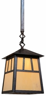 Arroyo Craftsman RSH-10 Raymond Craftsman Outdoor Hanging Pendant Light - 45.75 inch long
